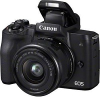 Canon EOS M50 + 15-45mm IS STM - Zwart
